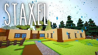 Staxel #14 | Außen hui - Innnen Pfui | Gameplay German Deutsch thumbnail