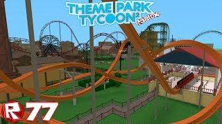 Roblox - Episode 77 | Theme Park Tycoon 2 - Supporter de AS Roma / FR