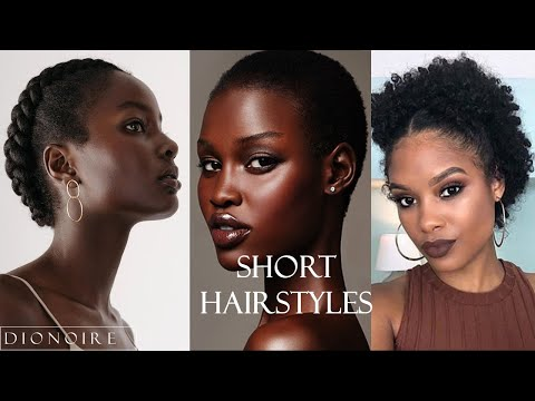 Natural Hairstyles: TWA, Short and Awkward Length Compilations