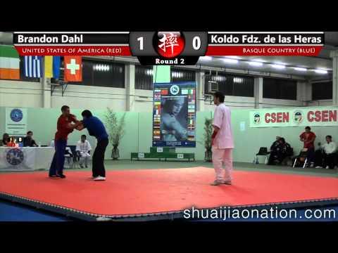 2012 ESJU Chang Dong Sheng Memorial, Italy - Brandon Dahl vs Koldo Fdz. de las Heras