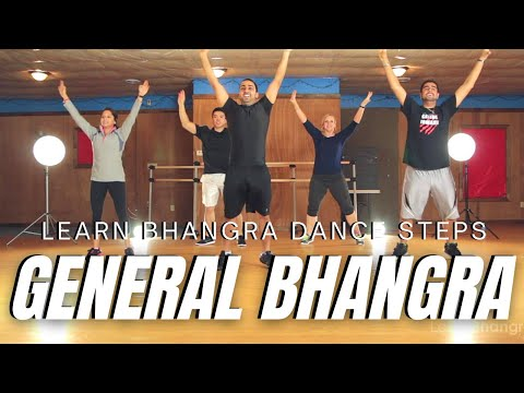 Learn Bhangra Dance Steps - General Bhangra Tutorial | Beginner 7 of 14