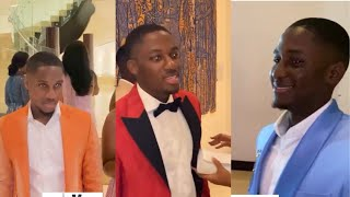 Osei Kwame Despite Cute Sons & Girlfriends Arrive At Ciri Wedding Reception