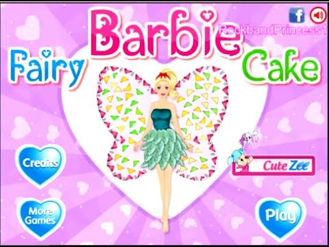 Fairy Barbie Cake Decorations Game Barbie Cooking Games