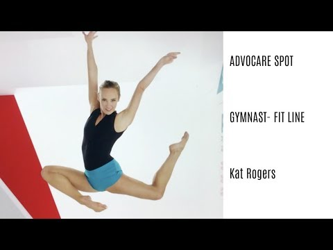 Kat as Gymnast for ADVOCARE