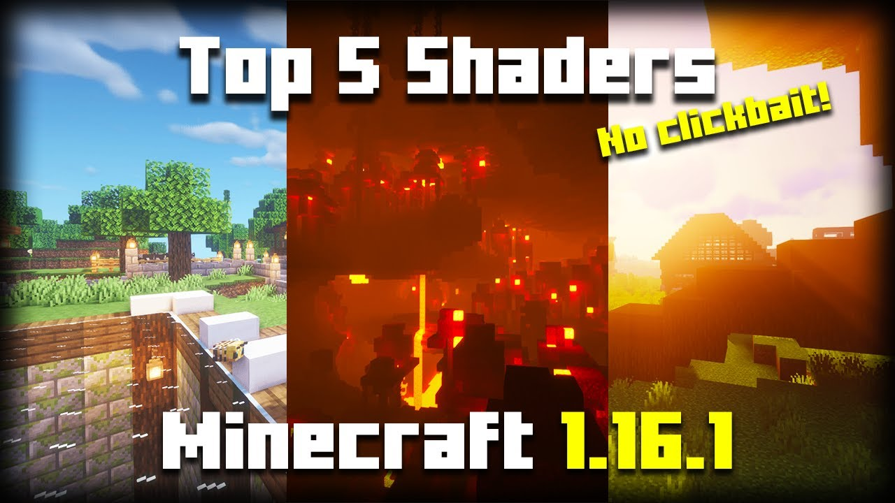 *Top 100* Minecraft 10.106.10 Shaders (1001010)