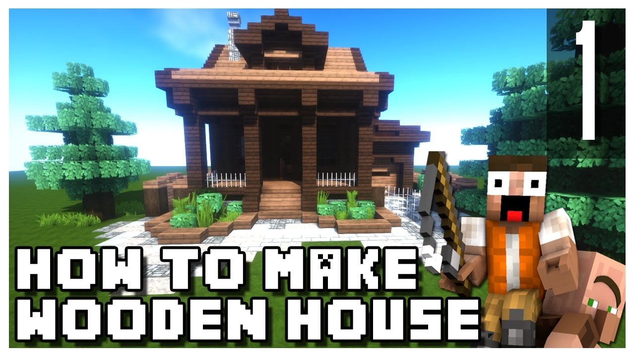 how to make a small wooden house