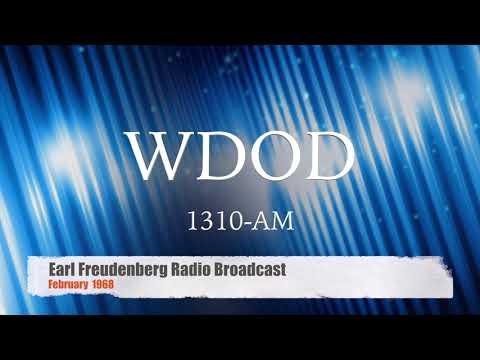 WDOD AM (unedited broadcast) - Feb 1968 with Earl Freudenberg