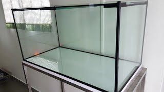 LIOW VIDEO: 3 feet tank for my flowerhorn 定制三尺鱼缸 (Music: Anna Koh)