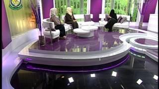 الاعلاميه السعوديه منيرة المشخص  على القناة الاولى