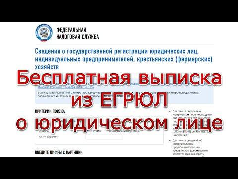 ЕГРЮЛ - как искать информацию о компаниях и юридических лицах