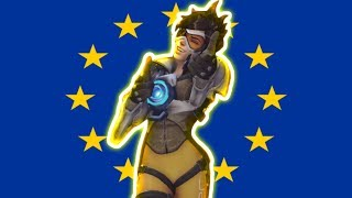 This Is What A Rank 1 EU Player Looks Like - Overwatch Montage