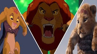 The Lion King Evolution In Movies,Cartoons And Games (2018)