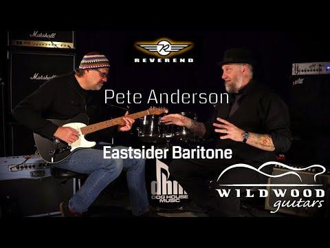 The Reverend Pete Anderson Signature Eastsider Baritone  •  Wildwood Guitars