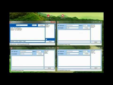 Demo Aplikasi Chating Delphi7