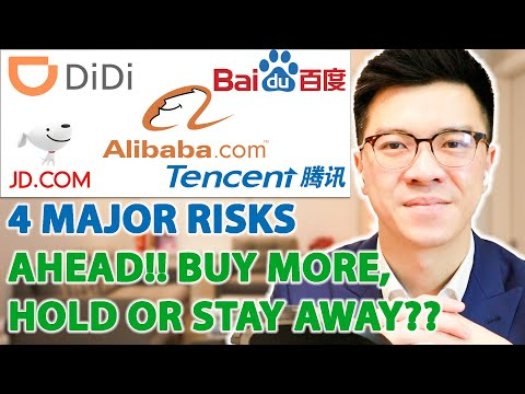 ALIBABA, DIDI, TENCENT, CHINESE STOCKS - 4 MAJOR RISKS AHEAD - BUY MORE or STAY AWAY??