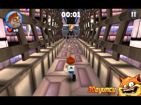 3D Koş Fred Koş 2 - 3D Oyunlar - YouTube