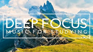 3 Hours of Background Music For Studying - Focus Music for Deep Concentration