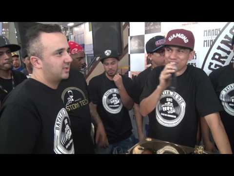 SOCO NA GANGRENA FINAL DJ FABINHO BW VS DJ GIO MARX