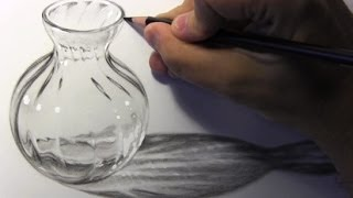 Drawing Time Lapse: Glass Bottle