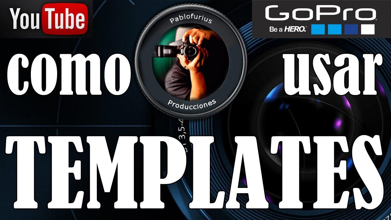 Como editar videos con los template de gopro studio for Gopro studio templates download