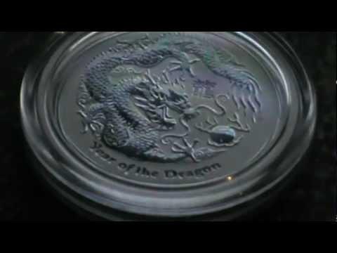 Silver Bullion - 1/2oz Year Of the Dragon