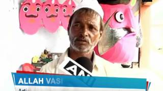 Muslims make effigies of Ravana on Dussehra - ANI News