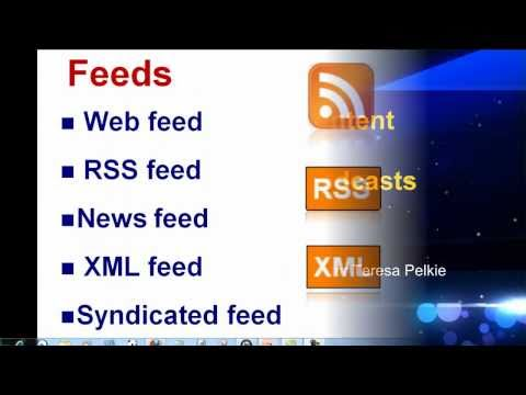 Syndication, Web Feeds and Podcasts