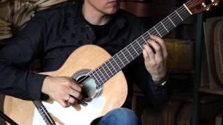 Hofner HZ27 classical guitar demo