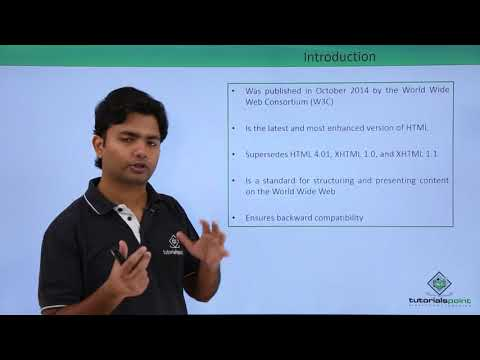 HTML5 - Introduction