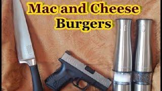 Bacon Mac & Cheese Burgers