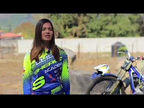 Ana Lucia Soto  Moto Trial  Girl