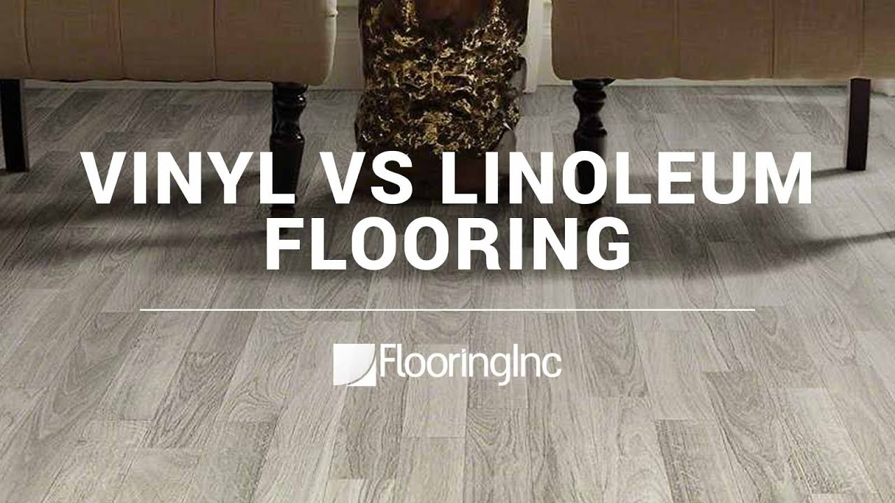 Vinyl vs Linoleum Flooring  YouTube