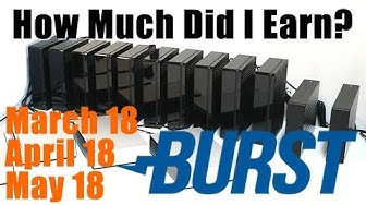 My 100TB Burstcoin Mining Rig Earnings For March April May 2018