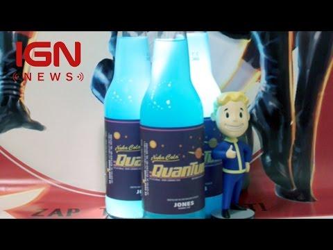 Bethesda Teams Up With Jones Soda For Nuka Cola Quantum Soda - IGN News