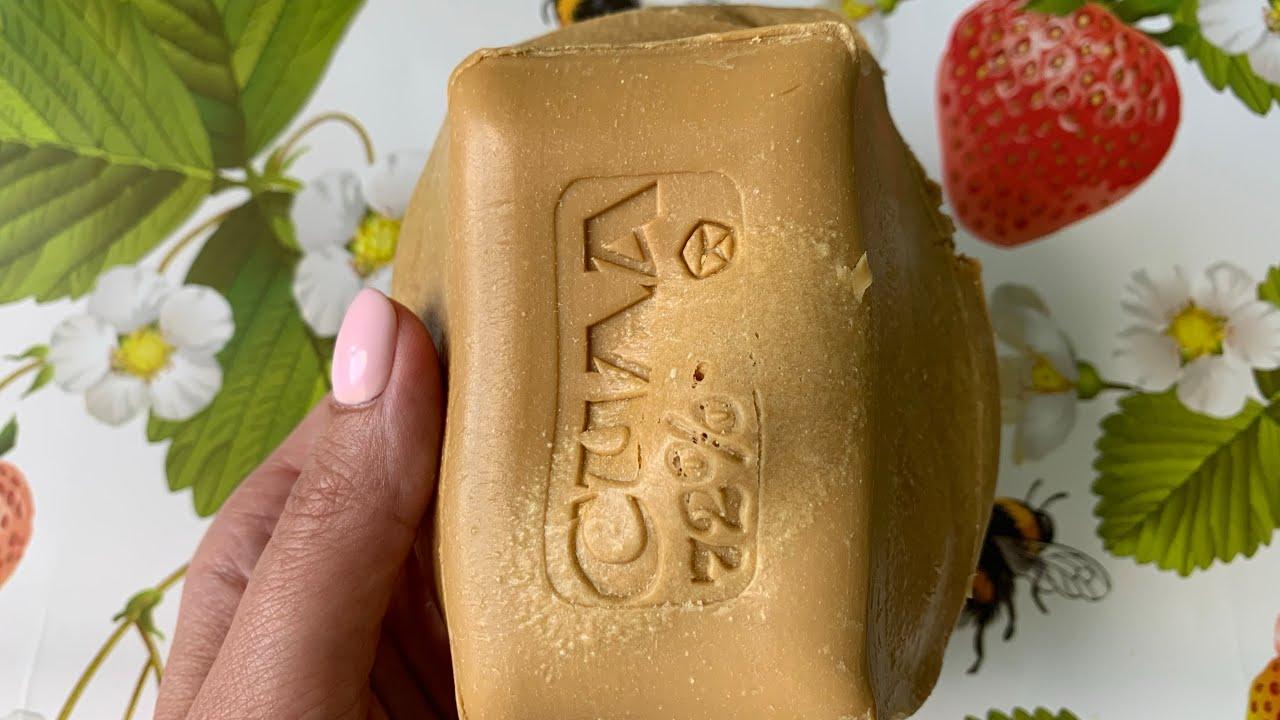 Потрясающее мыло СИЛА из микроволновки | ASMR Soap Carving (NO TALKING) | Relaxing Sounds