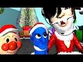 「アンパンマンおもちゃアニメ」悪い子供とお母さんのクリスマス!Anpanman Toy Christmas Anime