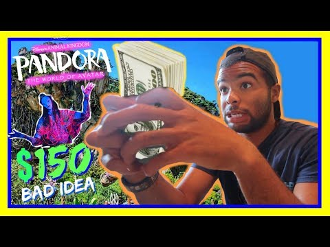 SPENT ALL OF MY MONEY AT DISNEY WORLD!! | Pandora The World Of Avatar, Animal Kingdom