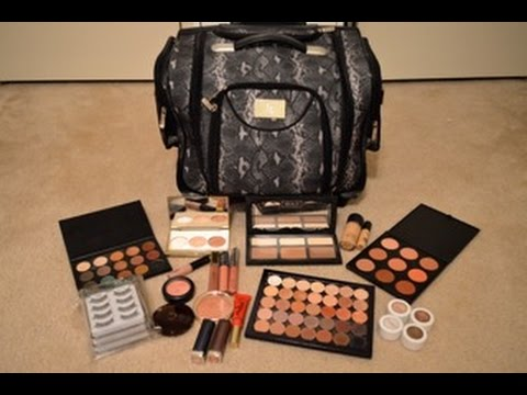 my freelance makeup kit  beginners  annie bridal beauty