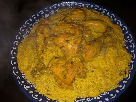 vermicelles-au-poulet-recette-marocaine-شعرية-بالدجاج-كوجبة-عشاء-سهلة-سريعة-التحضير