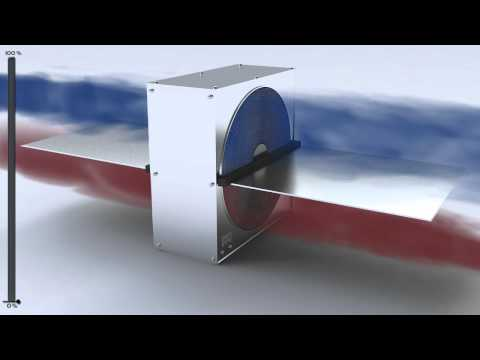 Enervent Heat Exchanger in Action