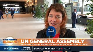 UN General Assembly: EU defends multilateralism and Iran nuclear deal