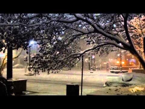 Snow in Salt Lake City