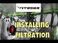 Vivosun 6 Inch 390 CFM Inline Duct Fan & Carbon Odor Filter Install.