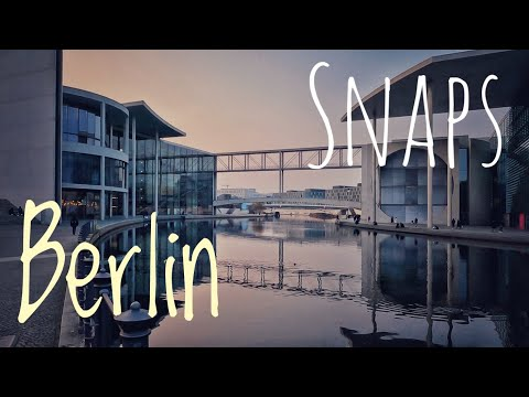 Berlin Snaps | Spreebogen | Central Station | Government District | City Tour | Germany Travel Clip