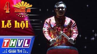 THVL | Người nghệ sĩ đa tài 2017 - Tập 4[1]: Lễ hội cầu mưa - Hữu Tín