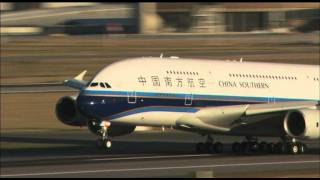 Primer Airbus A380 de China Southern Airlines