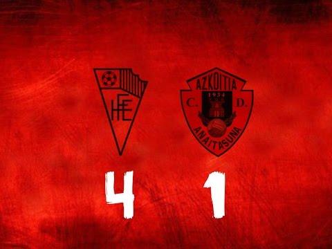 Hondarribia 4-1 Anaitasuna (Bideo laburpena eta adierazpenak)