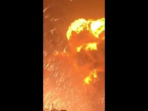 Tianjin , China explosion 2015