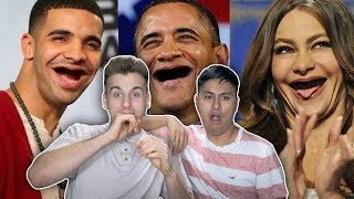 Funny Photos Of Celebrities Without Teeth