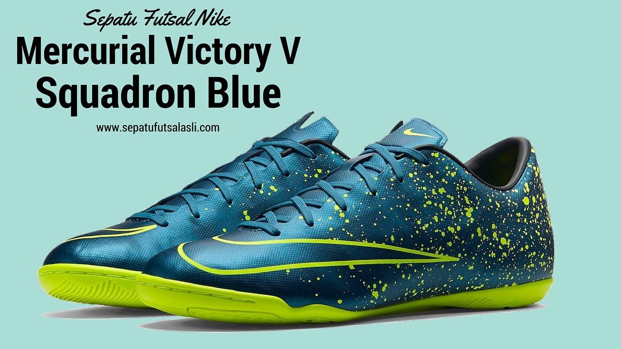 4395658361 Sepatu Futsal Nike Mercurial Victory V Squadron Blue 651635-440 ...